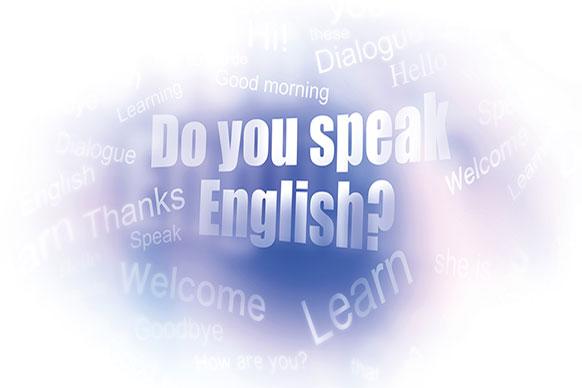 Business Englisch Wortwolke Do you speak English?