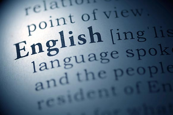 Massgeschneiderter Sprachkurs Englisch: Dictionary-Definition English.